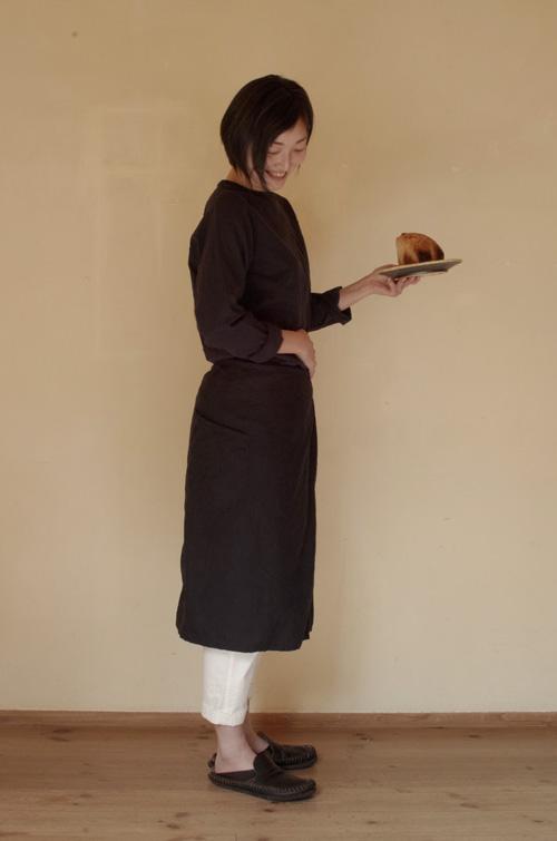 パンとシャツとラップエプロン