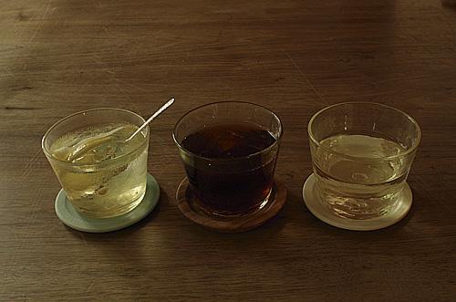 飲み物3種
